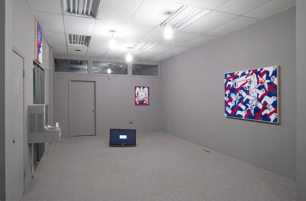 Installation view,  Q-See SIGD2: Jared Brown and Kim Westfall  at Bb