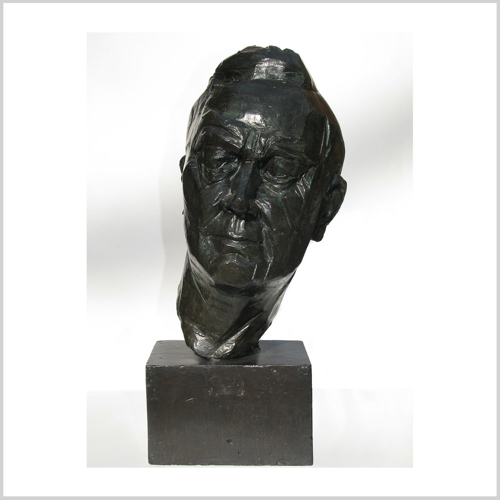 Portrait Head of President Franklin Roosevelt