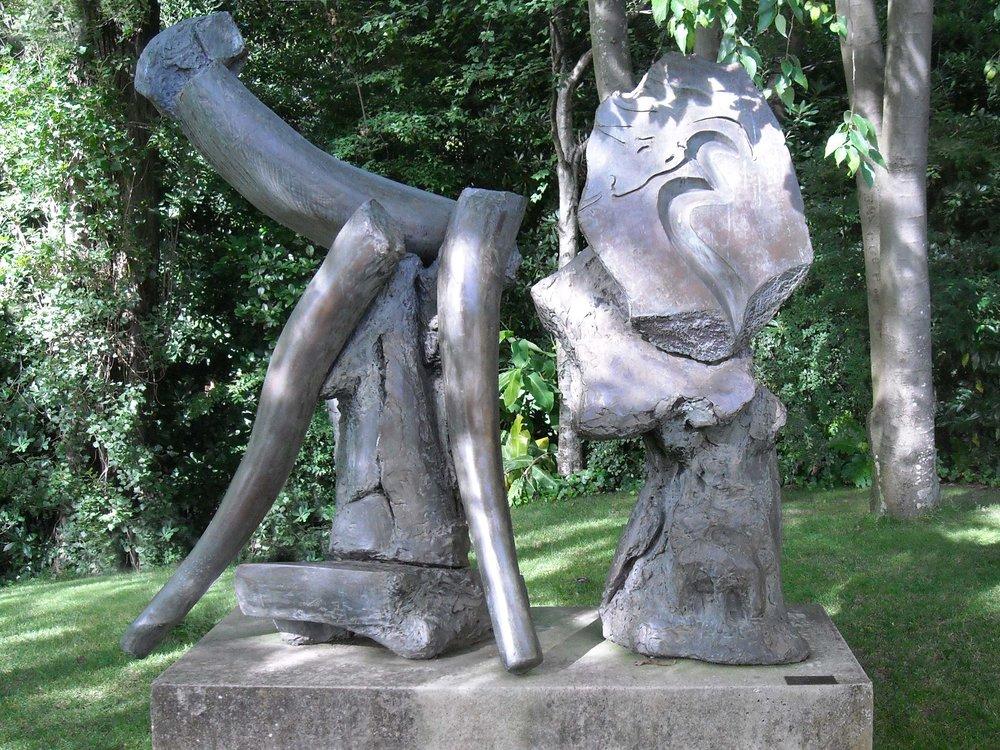 """Satyricon I  1981, bronze 84 x 102 x 42"""" Fundação Calouste Gulbenkian, Centro de Arte Moderna, Lisbon, Portugal 10.28"""