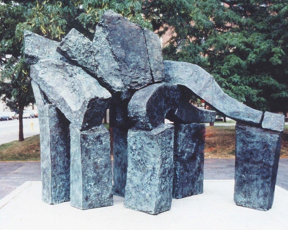 """Juno, 1980, bronze, 87 x 114 x 54"""""""