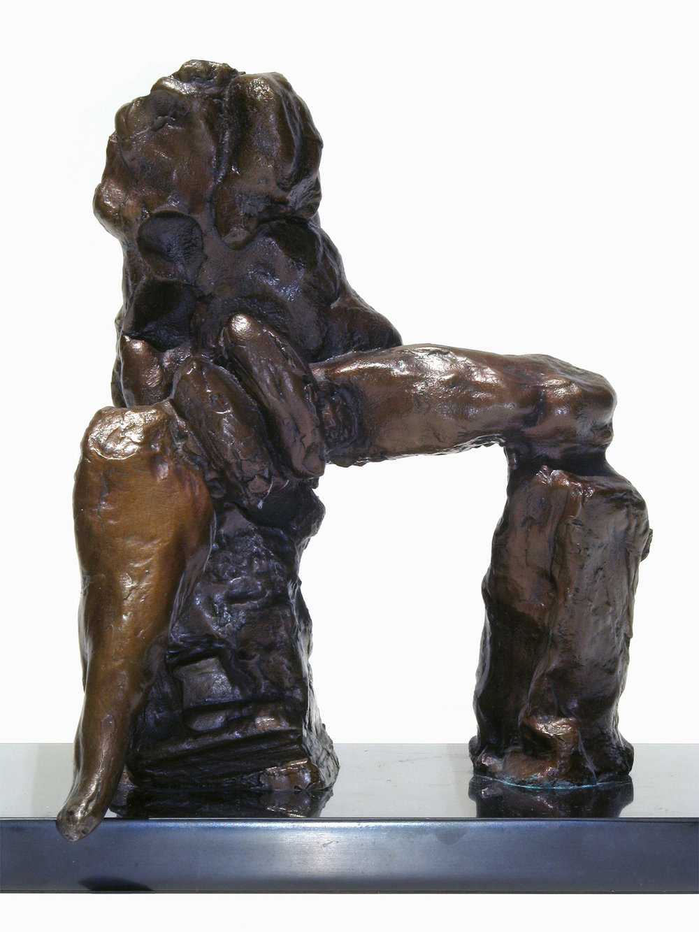 "Study for Juno in the Judgment of Paris  c.1964, bronze 8 ½ x 6 ½ x 5 ½"" Private collections 30.268"