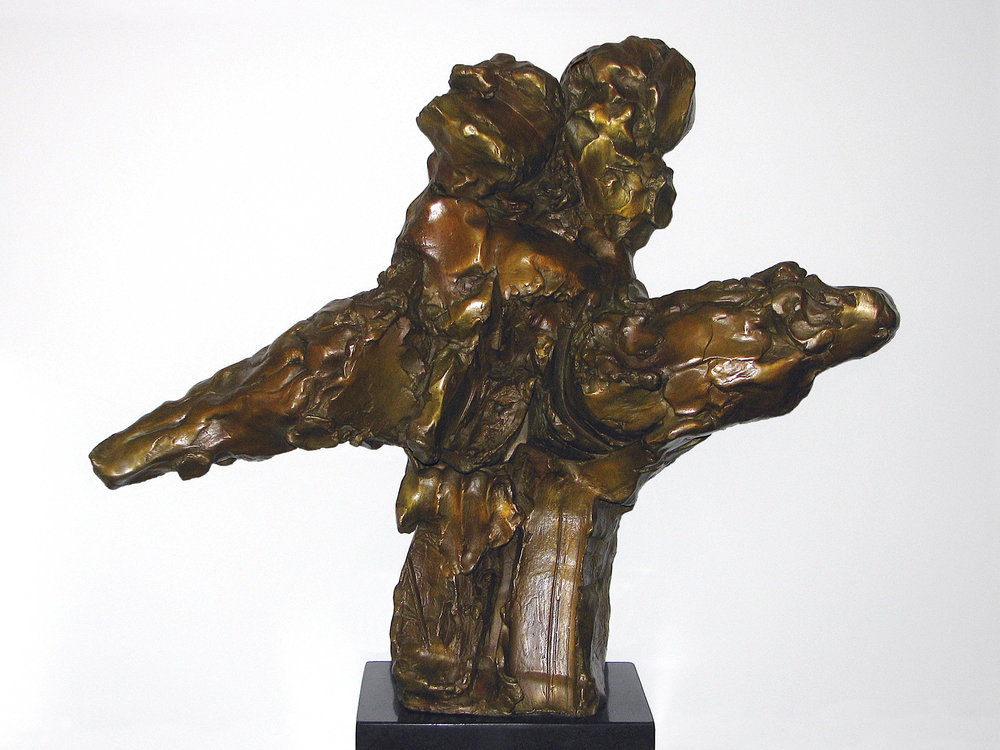 "Study for Goddess with the Golden Thighs  1963, bronze 20 ½ x 24 ¾ x 8 ½"" Walker Art Museum, Minneapolis, MN; private collections 30.095"