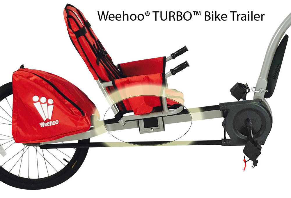 Weehoo® TURBO™ Trailer Bike