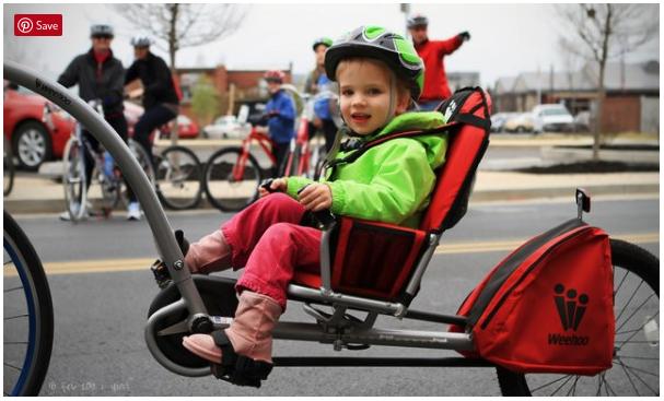 Weehoo® CLASSIC Trailer Bike