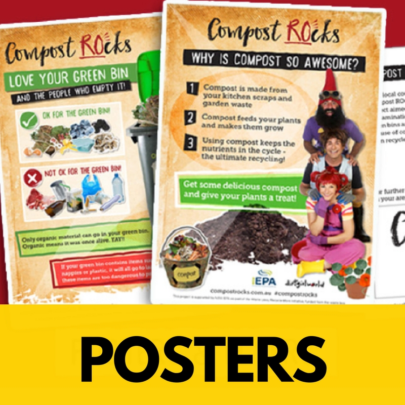 Stick 'em up, or give 'em away,  educate with our beautiful posters - that actually get read.  Imagine having posters that people want to keep?