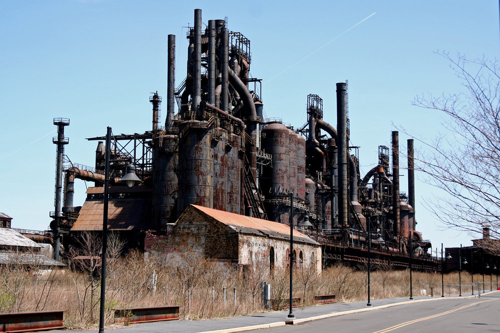 Bethlehem Steel after the plant closed