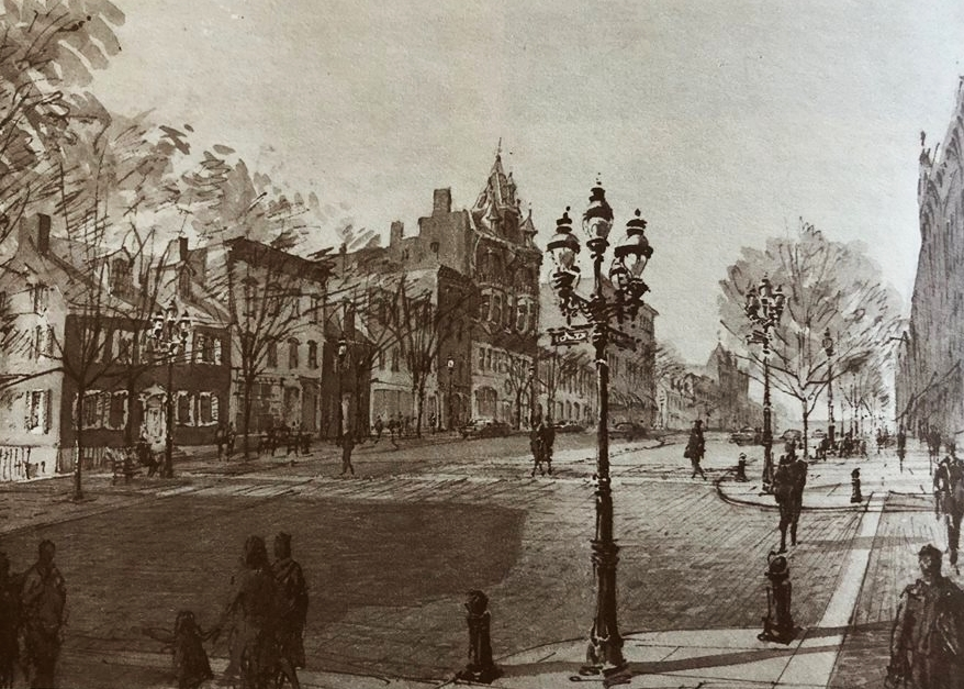 Proposed Restoration of Main Street