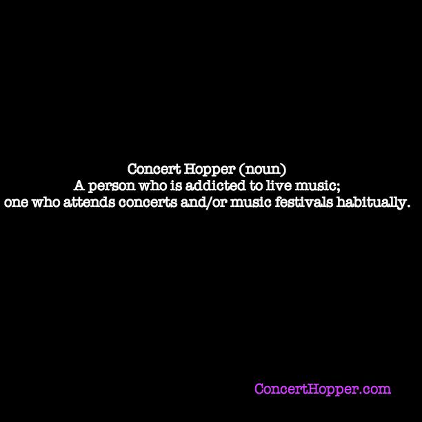 Concert Hopper