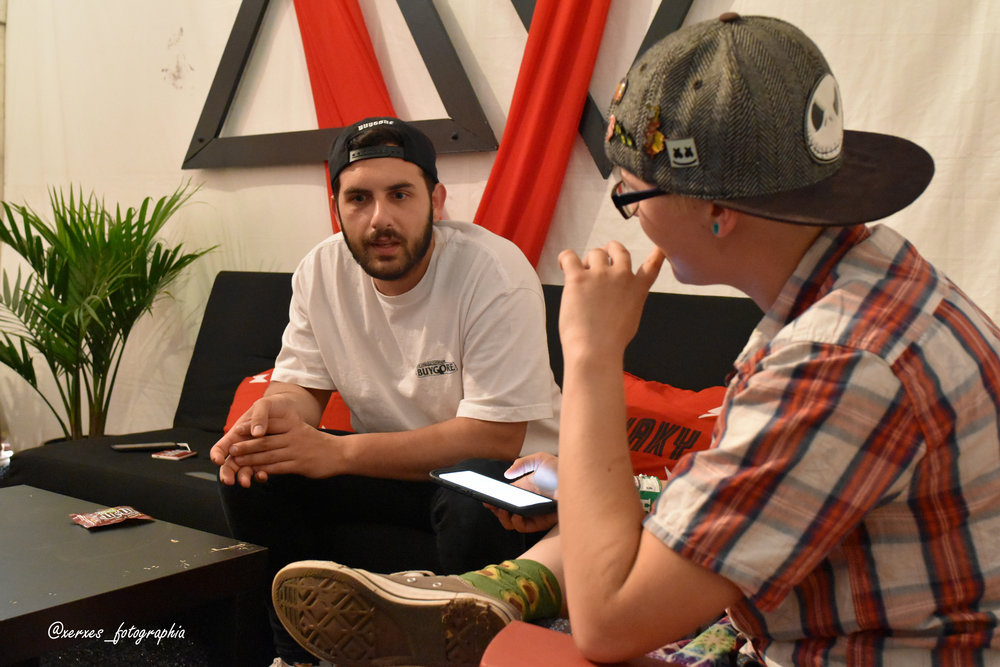 Kade interviews Borgore!!