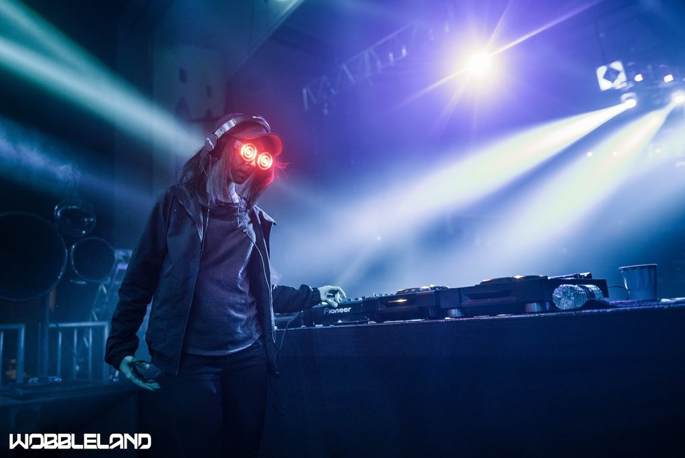 Photo of REZZ performing by WobbleLand.
