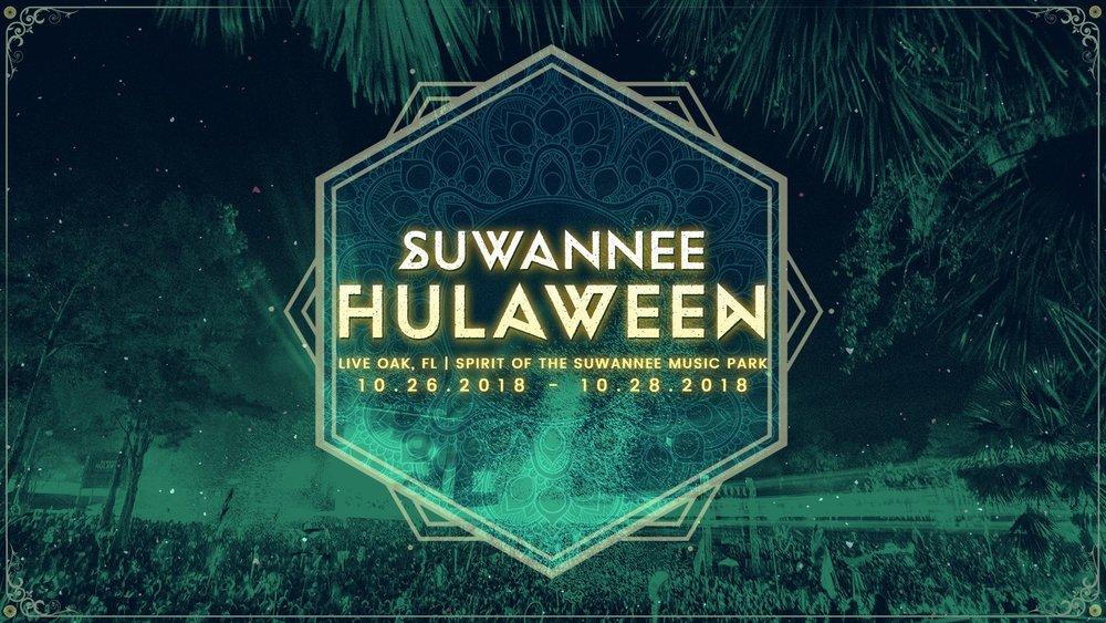 Suwannee Hulaween 2018 Official Event Banner