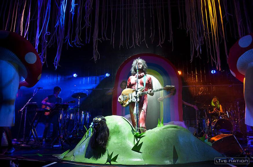 The Flaming Lips - Photo courtesy of Live Nation.