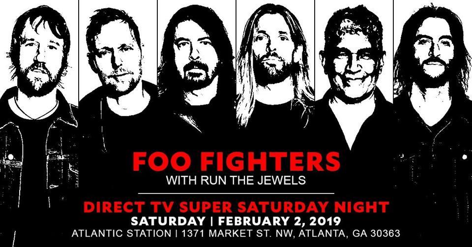 FooFighters - Big Game Weekend