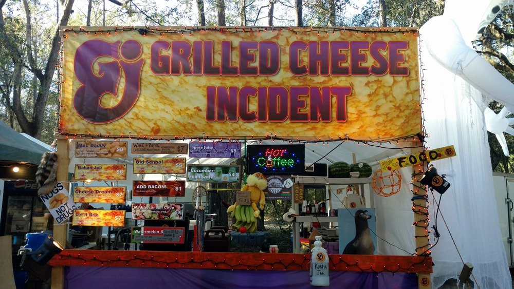 The Grilled Cheese Incident's Booth