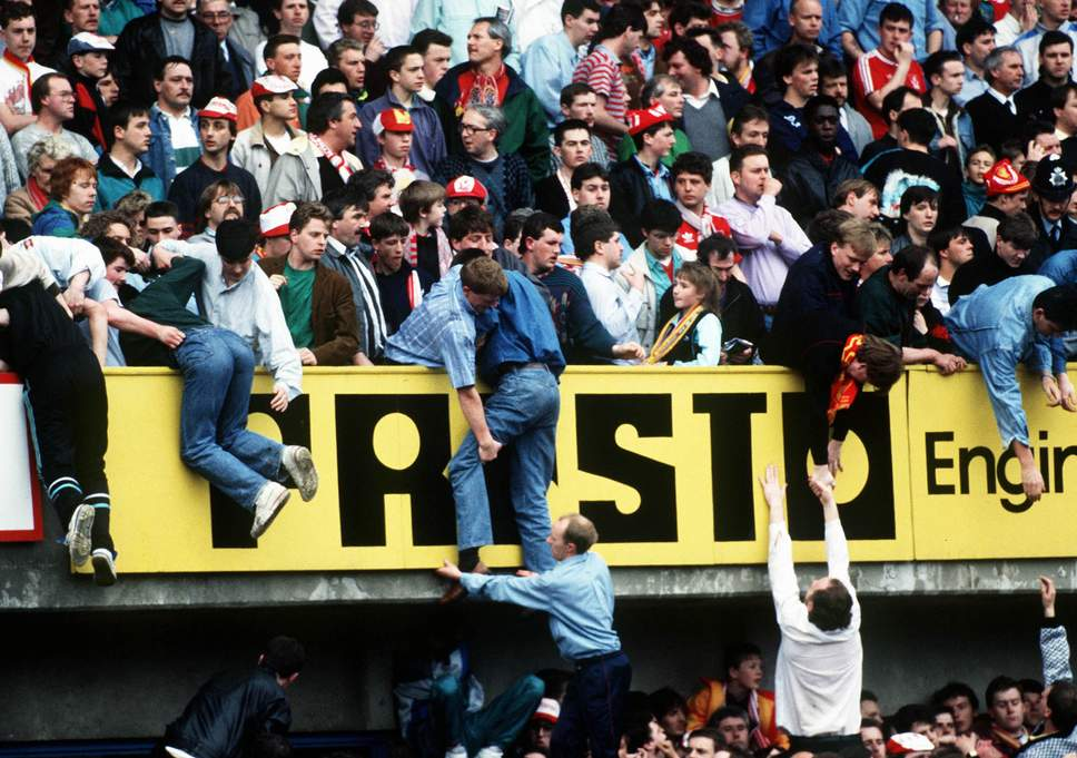 Hillsborough Disaster of '89