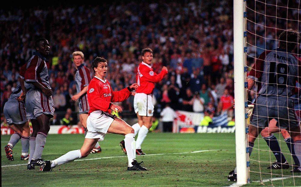 Solskjaer's moment of magnificence.