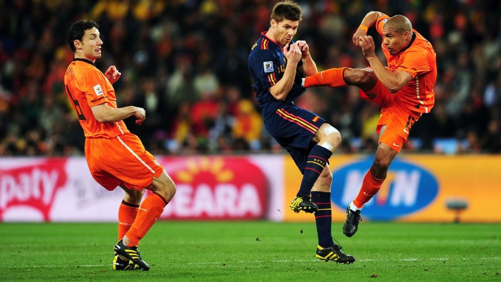 De Jong's Karate Kick.