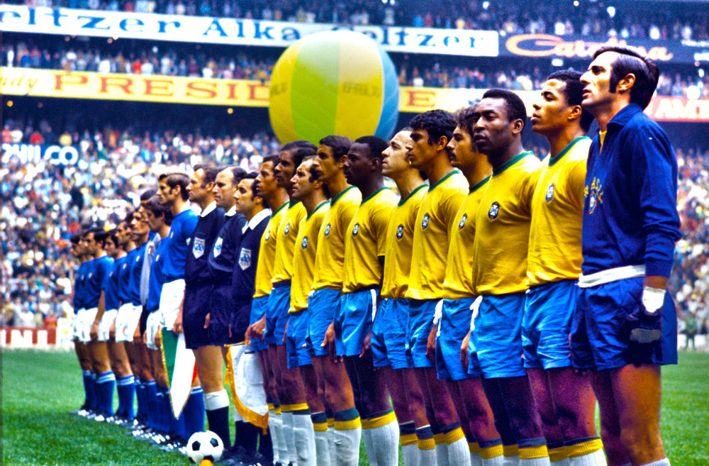 Brazil vs. Italy, 1970