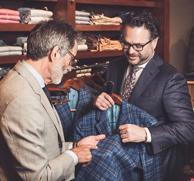@oxxfordclothes trunk show is happening in store today and tomorrow! Stop in and experience all their line has to offer for both spring and fall pieces. They have the perfect garments to finish out your spring wardrobe in addition to samples for their fall Made-to-Measure line.  #vsco #vscocam #menswear #mensstyle #mensfashion #fallstyle #fallfashion #Italianstyle #italianfashion #charlottefashion #cltfashion #charlottesgotalot #704lifestyle #boutique #mensboutique #cltboutique #haberdashers #charlotte #charlottenc #fall #springstyle #springfashion