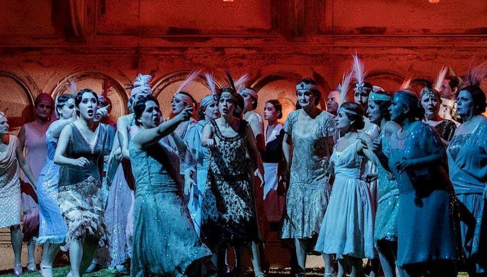 Blümenmädchen - Parsifal - Opernhaus Zürich 2018 - Photo: Danielle Liniger