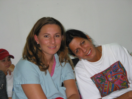 Dana and Lester circa 2005. Leslie is still the most tan (sorry RC, you've become a close second place) and Dana is still bringing the sass and keeping these boys honest in the OR.