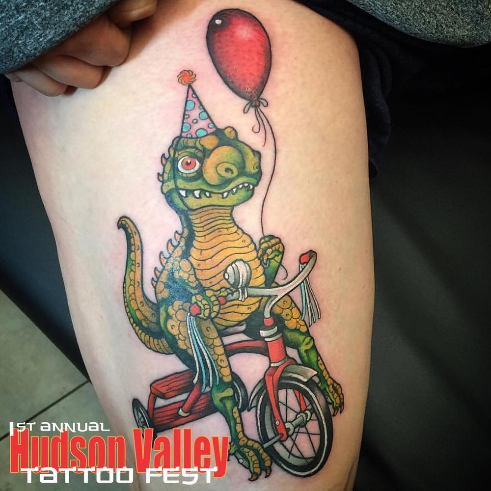 SHISH - HUDSON VALLEY TATTOO CO. - WAPPINGERS FALLS, NY