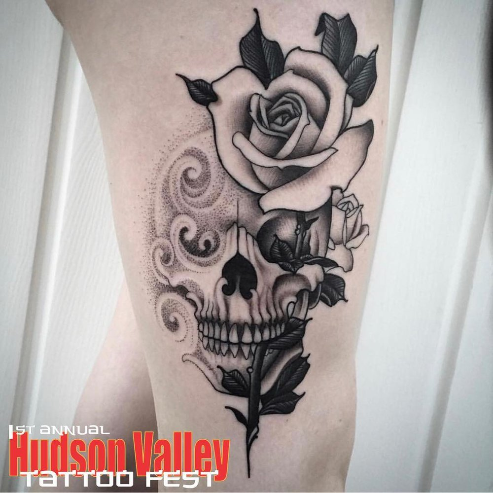 TYLER KOLVENBACH - HUDSON VALLEY TATTOO CO. - WAPPINGERS FALLS, NY