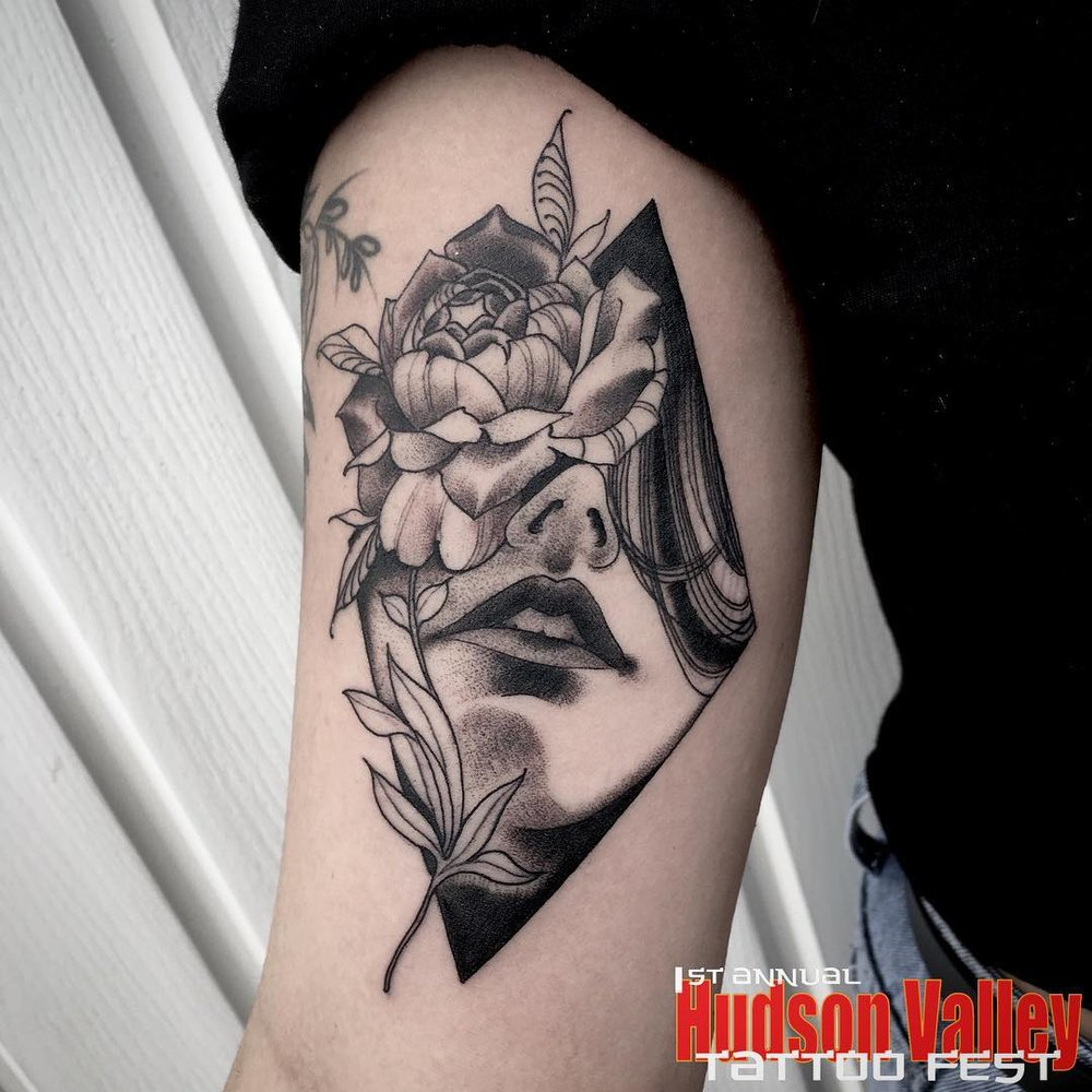TAKA COOPER - HUDSON VALLEY TATTOO CO. - WAPPINGERS FALLS, NY