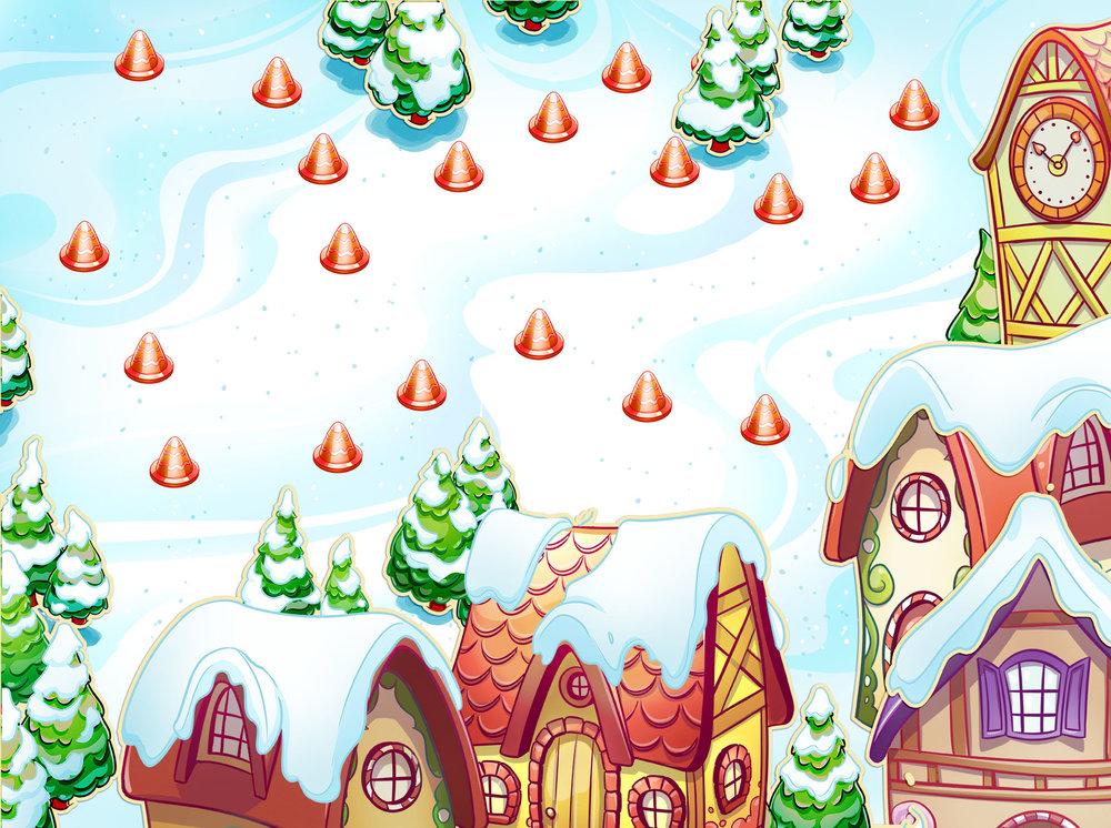 AdaptedMind Level Design- Snow Village