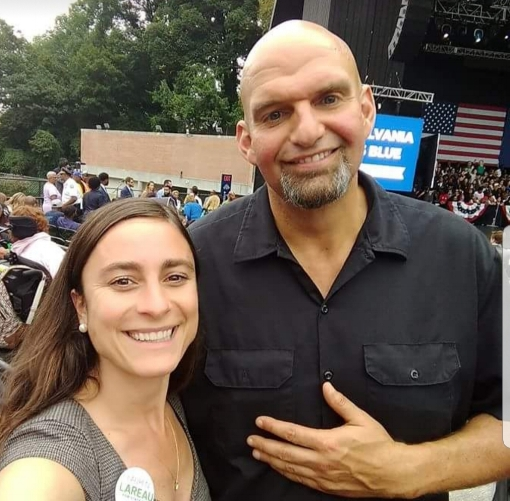 Lauren with John Fetterman Sept 2018.jpg
