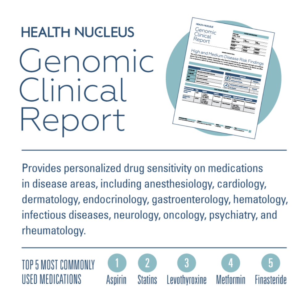 HEALTH NUCLEUS - Genomic Clinical Report