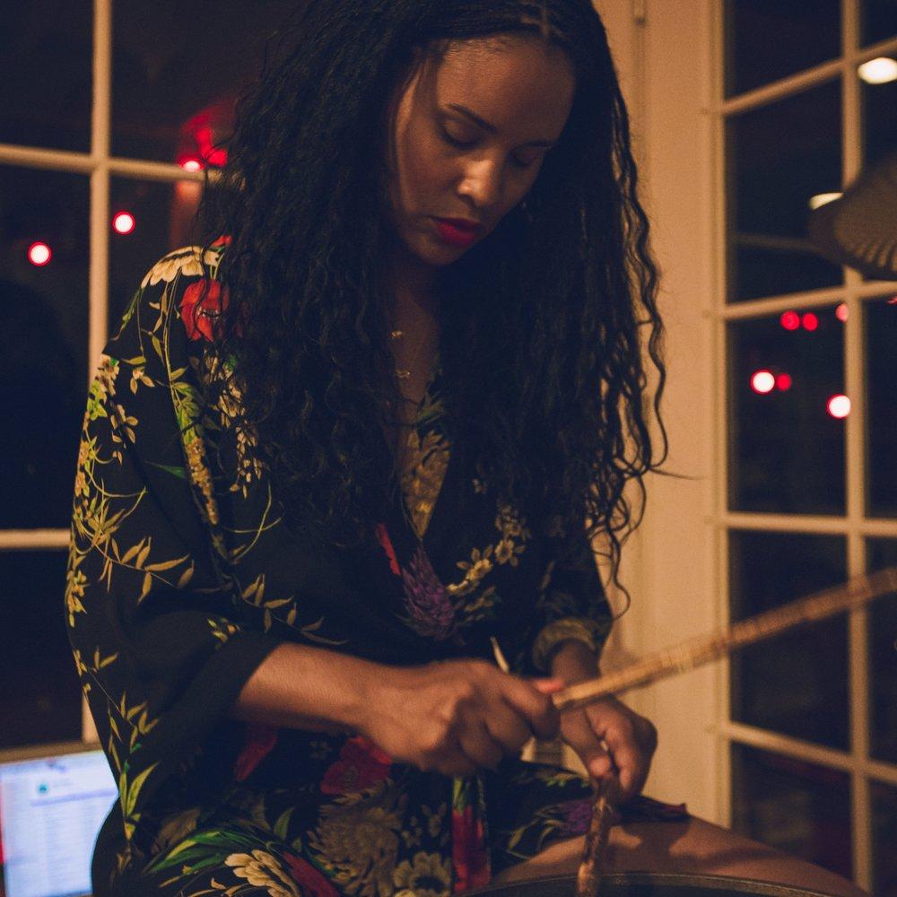 Joy Bryant Female Drummer Story Telling Honey Actress