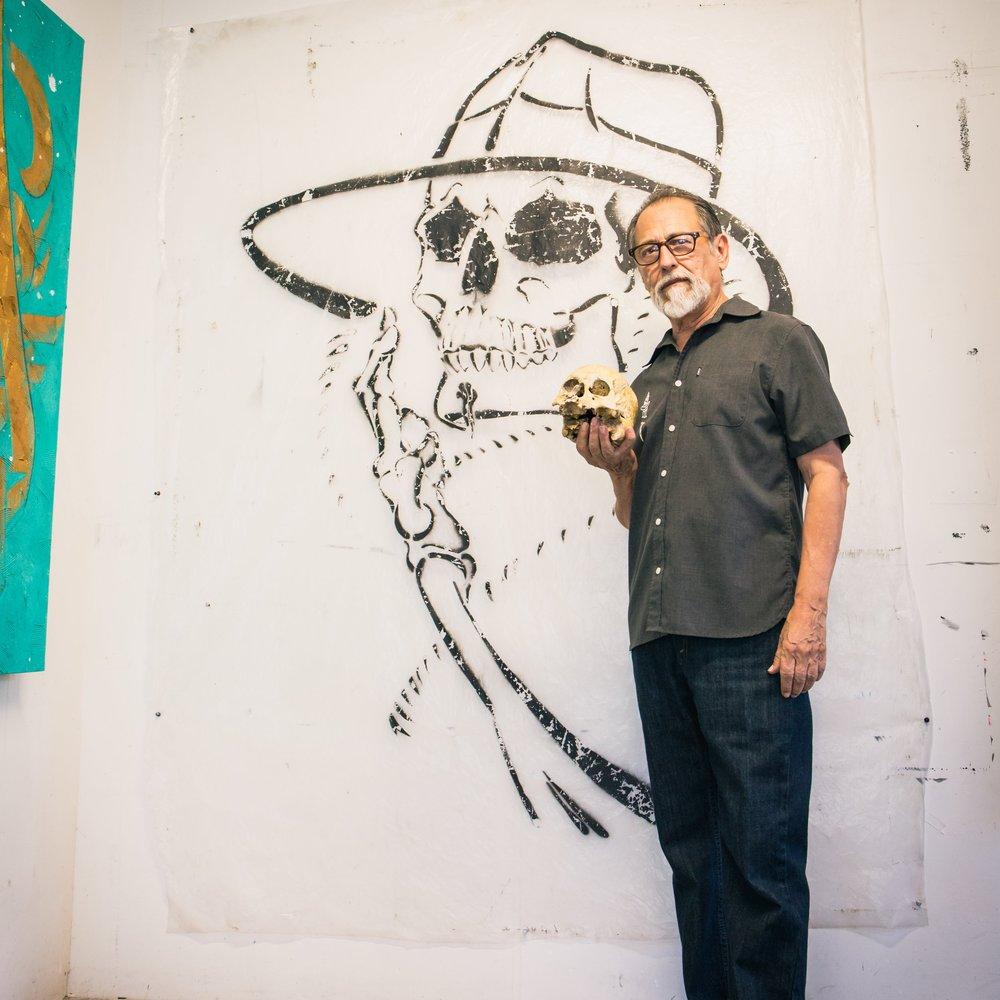 Chaz Bojórquez Graffiti Artist East Los Angeles Beyond The Strets