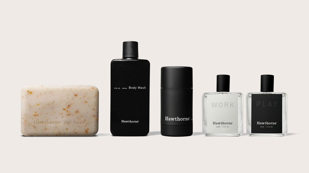 Hawthorne's new body care collection and fragrances.