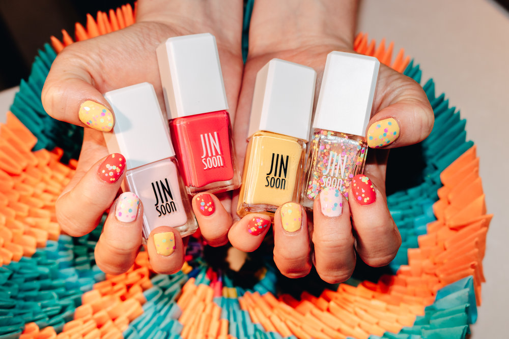 JINSoon Nails Mamagami Collection for Spring and Summer.
