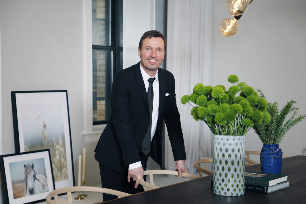 Lars Skjoth, Harklinikken's founder and head of research and development.