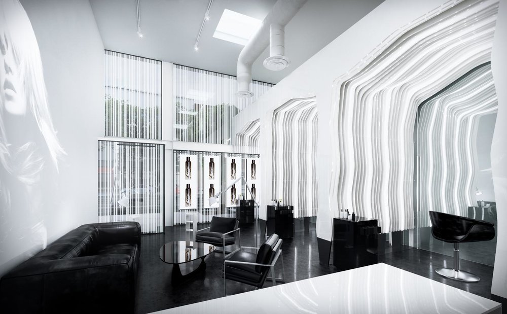 The new state-of-the-art-salon, STARRING by Ted Gibson is now open on South La Brea, Los Angeles.