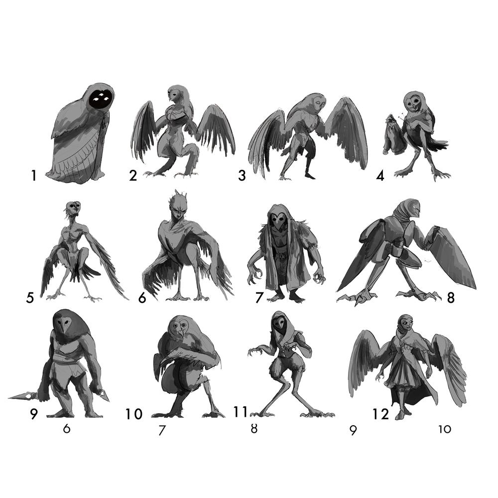 Owl Raider