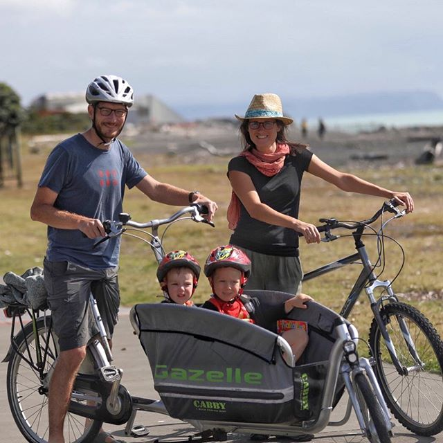 #outandabout #cyclingshots #lovecyclingtogether #fishbiker #hawkesbaytrails #hawkesbaynz #explorebybike #cargobikes