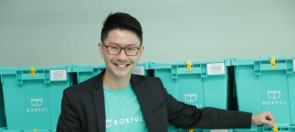Boxful任意存台灣區總經理Casper Koh 是新加坡人,卻熱愛台灣更熱愛新創。