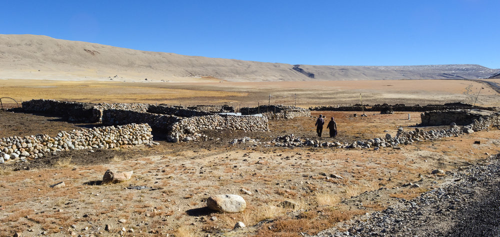 A Dokpa camp on the edge of the Tibetan Plateau -  Photo by Monika Agarwal