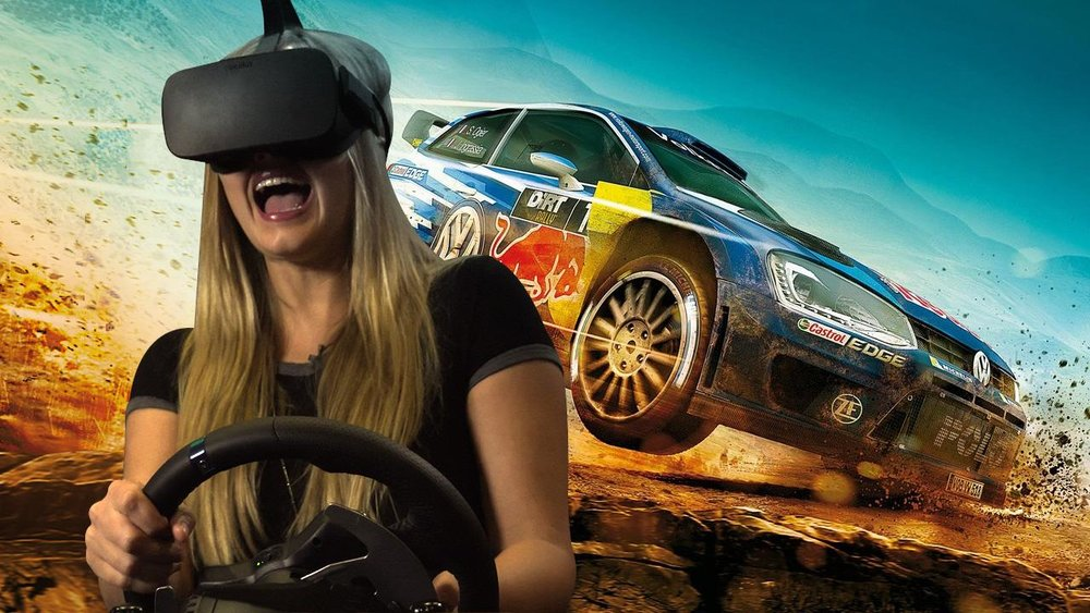 VR racing -