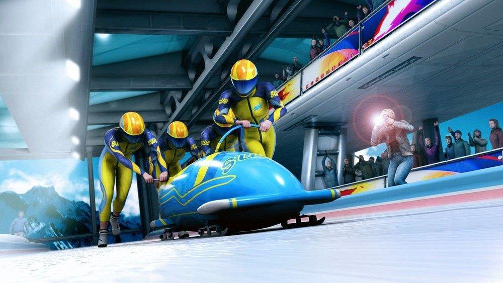 virtual bobslee -