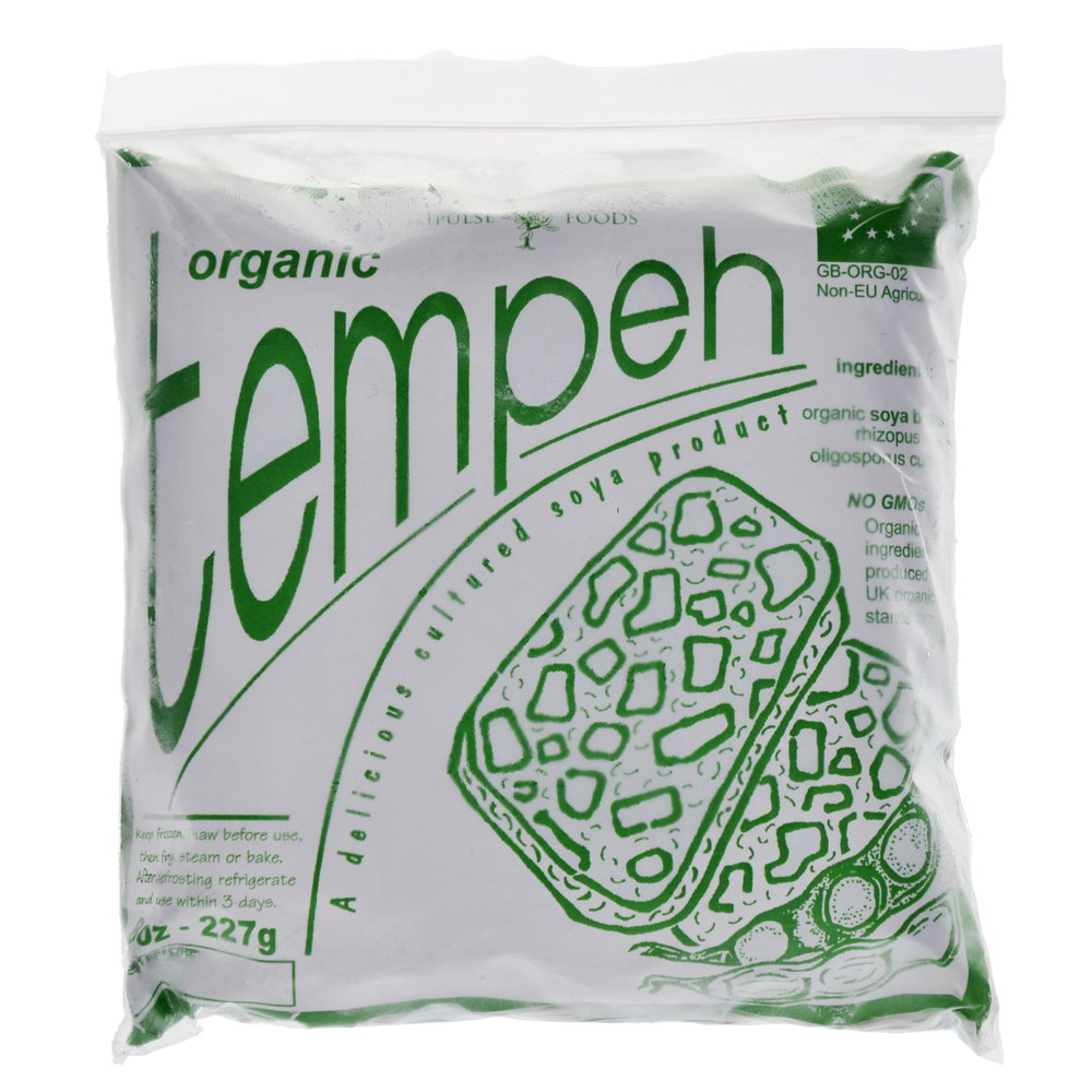 CLASSIC ORIGINAL FROZEN - SERVES 2   Available in plain or herb and garlic flavour, this tempeh is our original product. It has a great flavour, and a firm chewable texture that's a particular favourite with children   Will keep unopened in the freezer for up to 6 months.