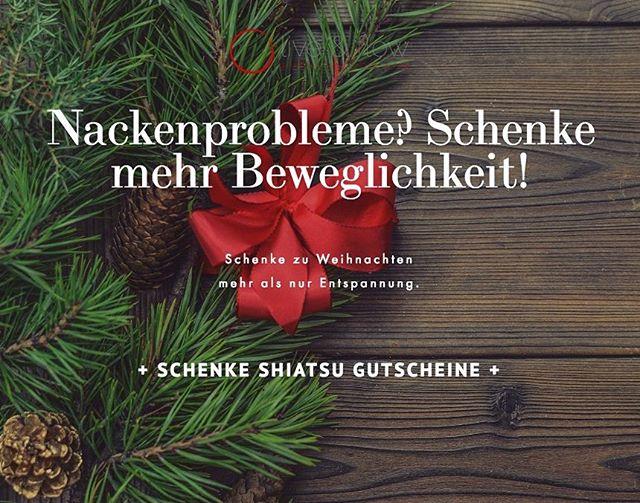 🎄It's not too late! Schenke deinen Lieben eine Shiatsu-Behandlung, die mehr kann als nur entspannen. Gutschein online bestellen (Link im Profil) und hol ihn dir direkt in meiner Praxis noch bis Samstag Mittag ab🎄Merry Christmas! . . . #merrychristmas #shiatsu #shiatsuwien #weihnachten #geschenk
