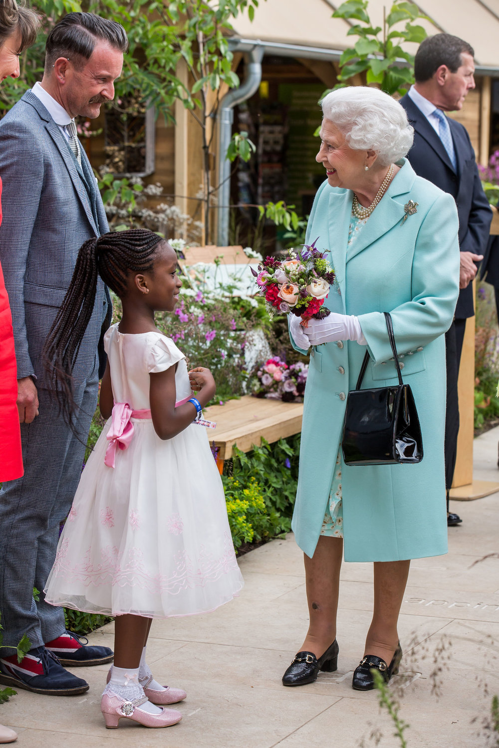 Meeting Her Majesty the Queen at the RHS Chelsea Flower Show