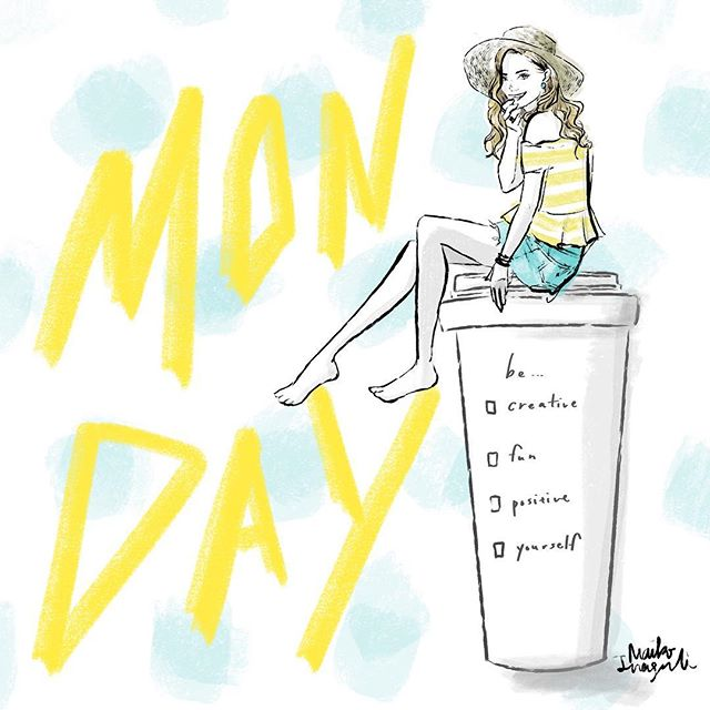 Happy Monday everyone! Don't forget to get your positive cup of coffee!