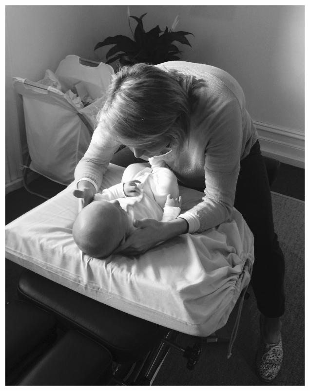 Babies and chiropractic Mosman