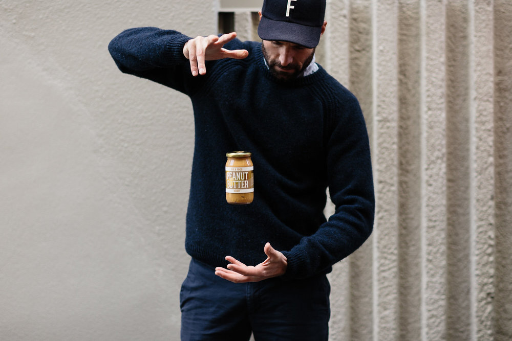 Honey peanut butter