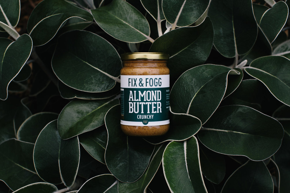 Fix & Fogg Crunchy Almond Butter